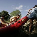 15 Prueba de agua y canoas