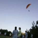38 Parapente de Madrid Rumbo al sur sobrevolando las pruebas de los Batanes