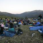 48 Despierta el campamento en lo alto de la Morcuera