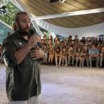 ACTO DE DESPEDIDA A LA EXPEDICION POR PARTE DE LAS AUTORIDADES DE LA COMUNIDAD DE MADRID (1)