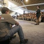 ACTO DE DESPEDIDA A LA EXPEDICION POR PARTE DE LAS AUTORIDADES DE LA COMUNIDAD DE MADRID (9)