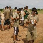 DESAYUNO EN SENEGAL TRAS EL PASO DE LA FRONTERA CON MALI