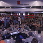 SALIDA DE MADRID Y LLEGADA DE LA EXPEDICION A DAKAR, SENEGAL