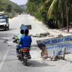Carretera hacia Leogane.Foto JL.Cuesta