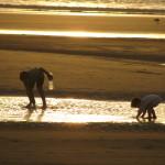 David Dorado Gil. Jugando en la playa de Essauira