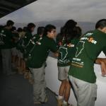 MADRID RUMBOA AL SUR 2009  LLEGADA EN EL FERRY A MELILLA