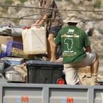 MADRID RUMBOA AL SUR 2009  CAMION Y PERSONAL DE MATERIAL