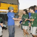 MADRID RUMBOA AL SUR 2009  ALMUERZO CON COMIDA DEL EJERCITO DE CAMINO A MIDELT