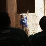 MADRID RUMBOA AL SUR 2009  VISITA A LA KASHBA DE TAMNOUGALT
