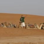MADRID RUMBOA AL SUR 2009  CAMPAMENTO EN EL ERG CHAGAGA. SAHARA