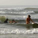 MADRID RUMBOA AL SUR 2009  TALLER DE SURF EN LA PLAYA DE SIDI IFNI