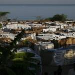 Terremoto en Haiti. Campamento de refugiados desplazados por el terremoto