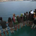 LLegada a el puerto de Las Palmas de Gran Canarias