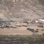 Campamento en el cuartel del Canarias 50 del ejercito