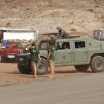 Campamento en el cuartel del Canarias 50, Las Palmas de Gran Canaria