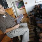 Conferencia de Jose de Armas sobre historia de Canarias
