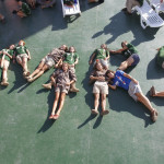 Fotos de los diferentes grupos que componen la Expedicion