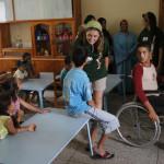 Visita y comida al Hospital Espa–ol de Tetuan.
