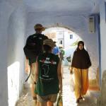 Marcha y visita a la ciudad de Chauen