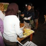 Cena a la llegada a Cala Iris en Alucemas