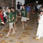 Recibimiento a la llegada a Fes de la ONG Al Amal