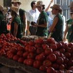 Visita al proyectode cooperacion Al Amal en un  barrio deprimido de Fez