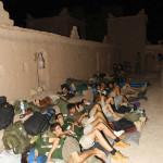 LLegada y campamento en la Kashba de Amridil