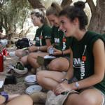 Comida de campa–a camino a Midelt