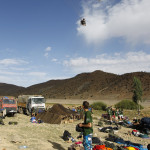 Campamento en Tatouine