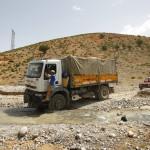 La expedicion de camino a Tatouine desde el campamento