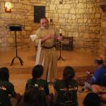 Charla con un monje y visita  al convento Cisterciense de Tatouine