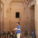 LLegada y visita a la Kasbah de Tammougalt