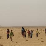Nomadas del desierto del Sahara