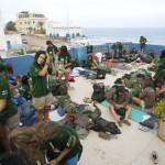 Lugar de acampada en la Suerte Loca en Sidi Ifni