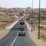 LLegada del convoy de Madrid Rumbo al Sur a El Aiun