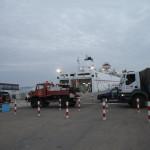 Salida de El Aiun a las Palmas de Gran Canarias en barco
