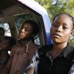 Terremoto en Haiti. Mujeres habitantes de Puerto Principe