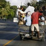Terremoto en Haiti.  Transporte publico en Haiti