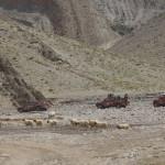 Recorrido por el lago Tisli, en Imichil