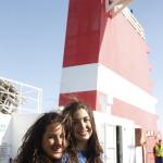 LLegada a Cadiz en el barco desde las Palmas