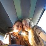 Viaje en el autobus de vuelta a Madrid