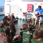 Talleres del programa academico en el barco a Cadiz