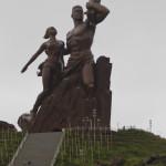 Expedicion Madrid Rumbo al Sur 2011 Monumento en Dakar