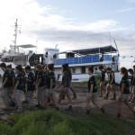 Expedicion Madrid Rumbo al Sur 2011 Paseo por el puerto de Kaolat