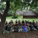 Expedicion Madrid Rumbo al Sur 2011 Taller de cooperacion en Kedougou