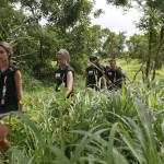 Expedicion Madrid Rumbo al Sur 2011 Marcha hacia el poblado Basari de Ethiolo