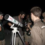 Expedicion Madrid Rumbo al Sur 2011 Clase de astronomia en Tambakounda