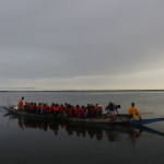 Expedicion Madrid Rumbo al Sur 2011 Amanecer y cruce del rio Saloum