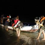 Expedicion Madrid Rumbo al Sur 2011 Cruce del rio Senegal en Sant Louis