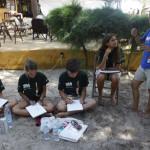 Expedicion Madrid Rumbo al Sur 2011 Taller de cuaderno de viajes